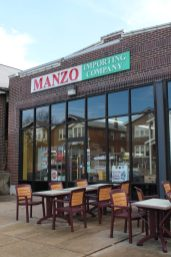 """Manzo Importing Companyknown for its homemade sausage, pasta and spreads, the Riverfront Times awarded this Southampton shop with the """"Best Cheese Counter"""" for 2012 Best of St. Louis Awards. Manzo Website"""