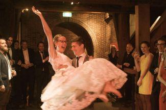 Openingsdans bruiloft Thijs Remijn en Linda Nelissen
