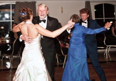Openingsdans bruiloft Arend en Mirjam met ouders