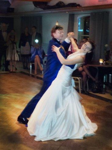 Openingsdans bruiloft Arend en Mirjam
