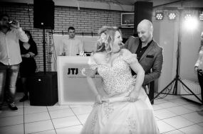 Openingsdans bruiloft Dennis en Diana 2