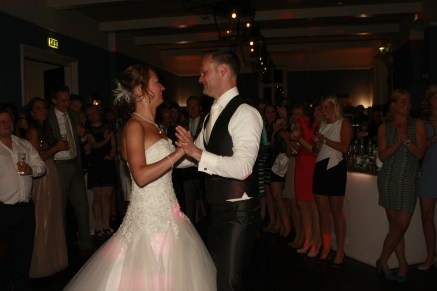 Openingsdans bruiloft Chris en Eveline