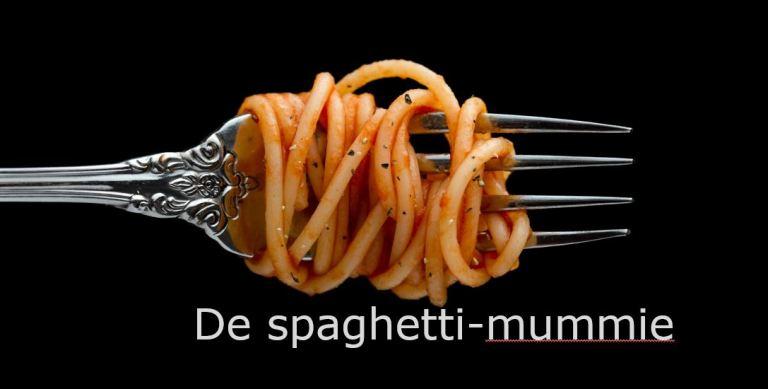 De openingsdans spaghetti mummie