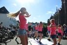 Dansoptredens bij Braderie