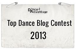 Dance Advantage Top Dance Blog Contest 2013