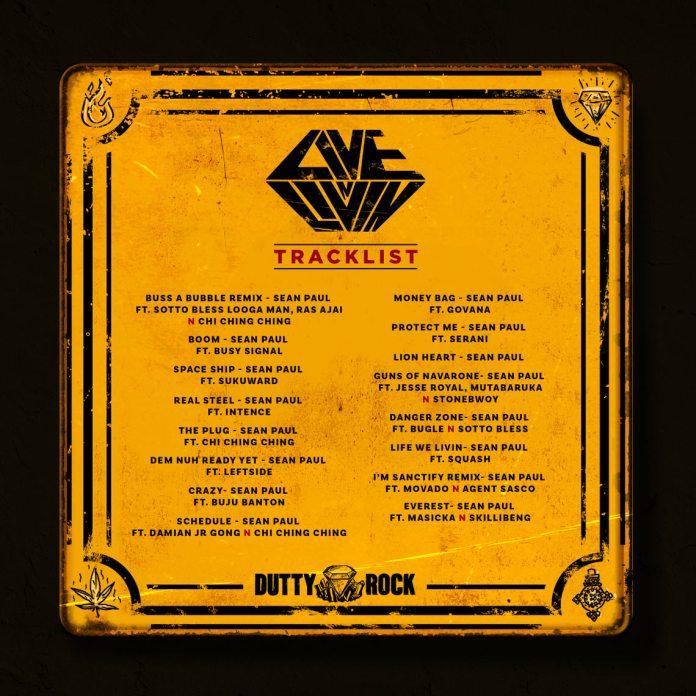 Live N Livin' Sean Paul album Tracklist
