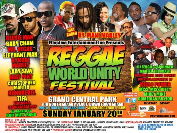 Reggae World Unity Festival