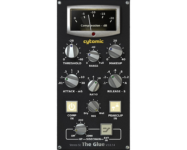 Cytomic The Glue essential EDM compressor