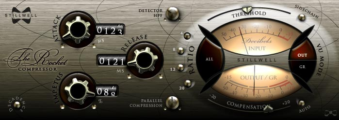 Stillwell Audio The Rocket essential EDM compressor