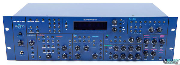 The Novation Supernova was one of Novation's most successful synthesizers to date