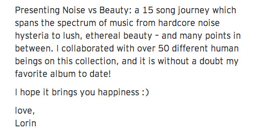 Noise Vs Beauty