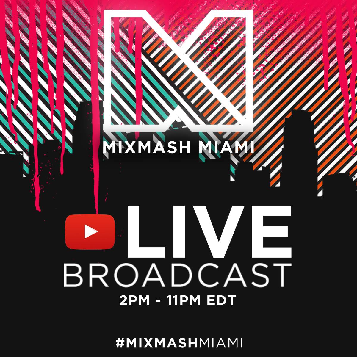 Mixmash Records Miami Pool Party Goes Live