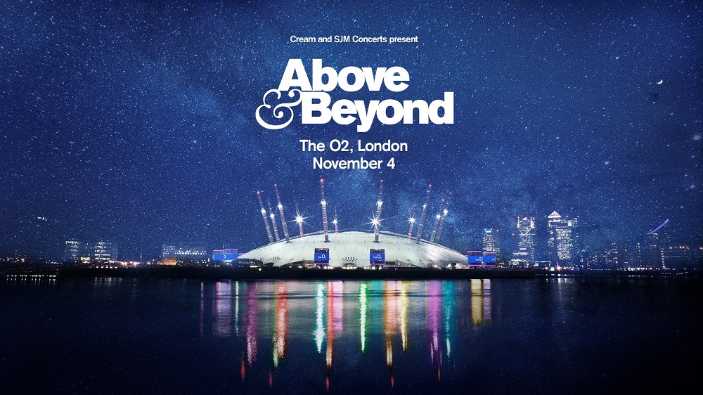 Above & Beyond To Play The O2 In London Saturday 4th November