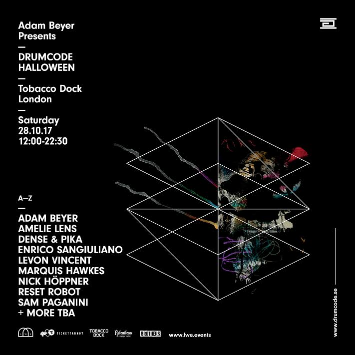 over the past 8 years drumcode halloween has cemented itself as londons definitive halloween party returning to the ancient burial site of tobacco dock - Names For A Halloween Party