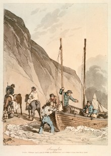 Smuggling was a flourishing trade in 18th century England