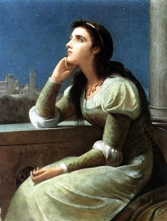 Juliet (by Philip H Calderon, 1888)