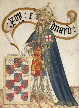 King Edward III, who gave Eustace Folville a full pardon