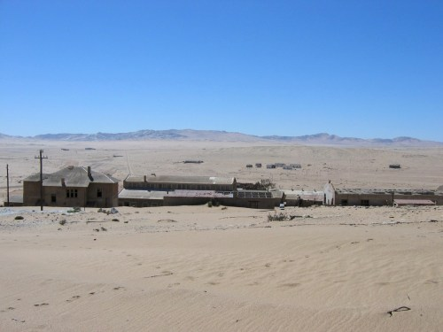 Part of Kolmanskop, a ruined town in the Namib desert. ©Harald Süpfle