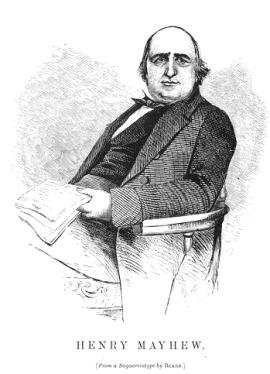 Social reformer Henry Mayhew in 1861
