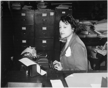 A clerk in Washington D.C., January 1943