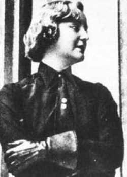 Unity Mitford in Nazi uniform