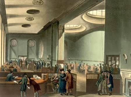 Lloyds of London insurance market, which started out as a Lloyds Coffee House