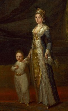 Lady Mary with her son Edward in 1717