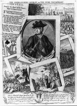 'The Highlanders Medley, or the Duke Triumphant'. 1746