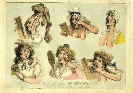 'Six Stages of Mending a Face'
