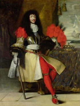 Louis XIV, c.1673