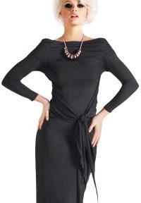 Maly Shawl Collar Dance Top MF141102|Tops