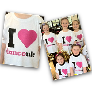 I Love Dance UK T shirt