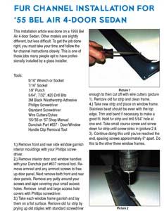 Tech-Article-9.2- 1955-1957 4-Door Sedan Fur Channel Installation
