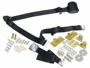 3-Point Seat Belt - Black