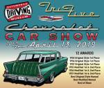 Automotive Driving Museum Tri-Five Show Banner