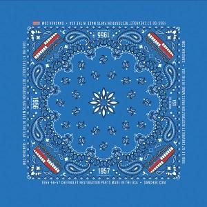 DANCHUK BANDANA BLUE