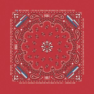 DANCHUK BANDANA RED