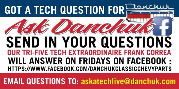 Ask A Danchuk Tech