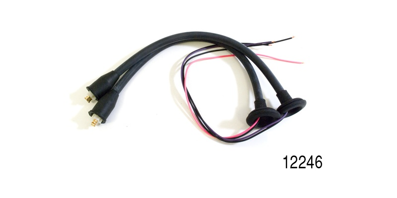 Factory Fit 1955 1956 Chevy Taillight Wiring Harness Pigtails Pair