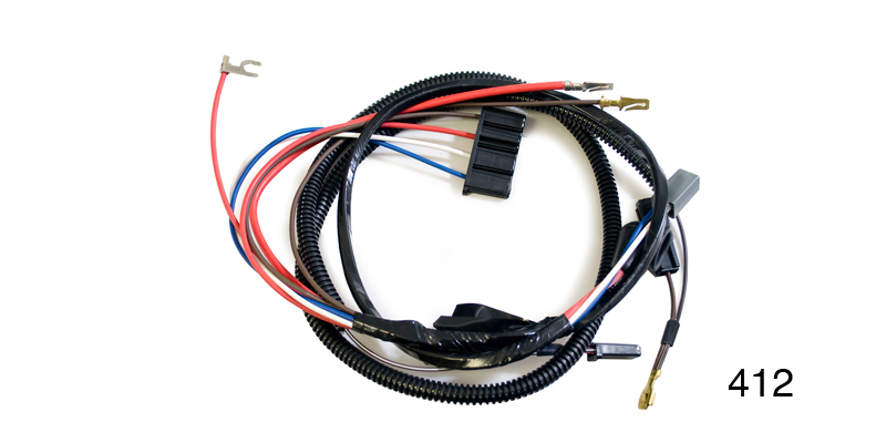 Factory Fit 1956 Chevy Alternator Conversion Wiring Harness W