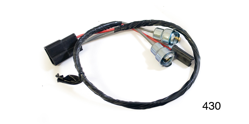 Factory Fit 1957 Chevy Clock Socket And Pigtails Wiring Harness