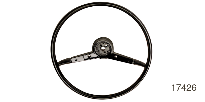 1957 Chevy Original Style Reproduction Steering Wheel, 18