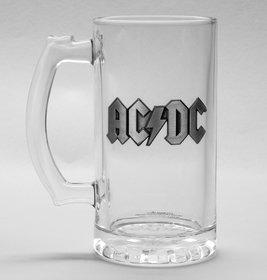 MERC - AC/DC LOGO KRIGLA ZA PIVO