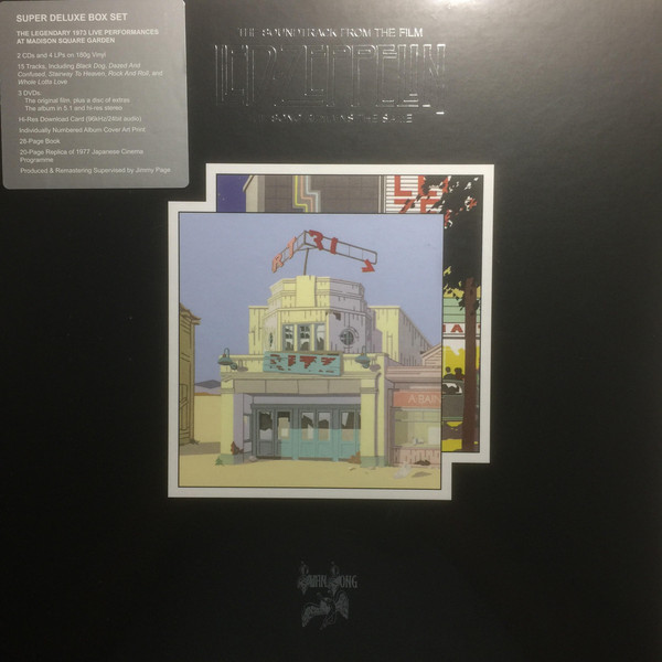 LED ZEPPELIN - SONGS REMAINS THE SAME..LP4+CD2 BOX