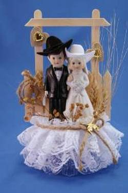 Western Wedding Cake Toppers And Western Wedding Cake Ideas  DANCING COWGIRL DESIGN