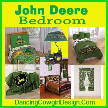 John Deere Bedroom Dancing Cowgirl Design