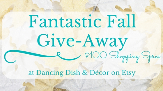 Fantastic Fall Shopping Spree $100 Giveaway!