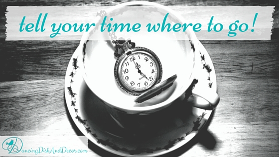 Tell Your Time Where To Go