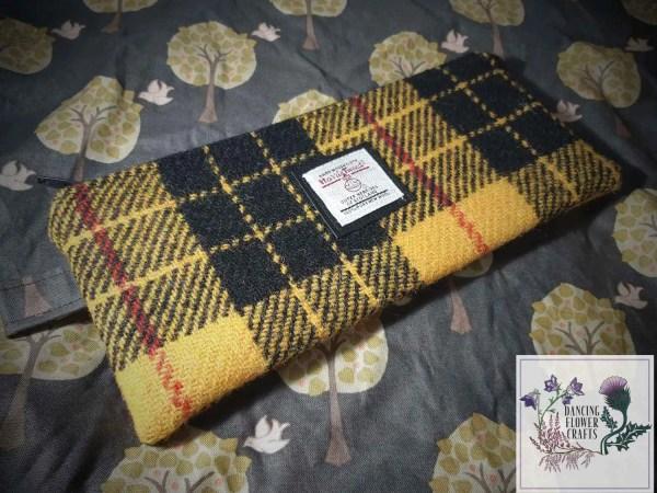 Harris Tweed pencil case: MacLeod of Lewis