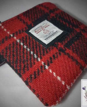 Harris Tweed coin purse: McIver
